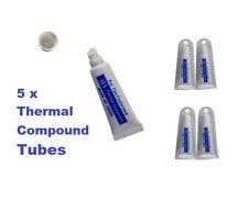 5 x Tubo Compuesta Pasta Grasa térmica PC CPU refrigeración del disipador térmico del procesador