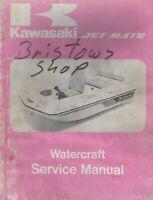 1989 KAWASAKI  WATERCRAFT JET MATE SERVICE MANUAL 99924-1121-01 (259)