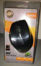 1000DPI 2.4G Rapoo 3180 Multimodes Wireless Mouse Bluetooth Mice For PC & Mac