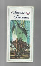 pk53869:ESSO Road Map - ATLANTIC PROVINCES - 1964 Edition