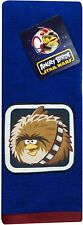 "Star Wars Angry Birds 16"" x 28"" Blue Hand Towel - Chewbacca  (New, Sealed)"