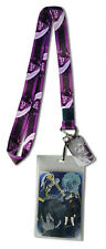 **License** Sword Art Online Metal Kirito Charm Badge ID Holder Lanyard #37770