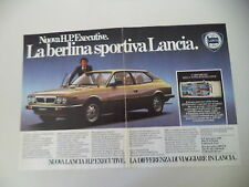 advertising Pubblicità 1981 LANCIA HPE HP EXECUTIVE