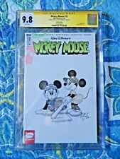 Mickey Mouse #12 Signed & Sketched by Amy Mebberson CGC 9.8