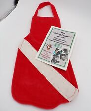 Clearance 50% off! Red SCUBA Fin Stocking / Reusable Gift Bag