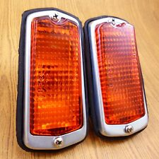 Datsun 510 240Z 120Y 1200 Pair Side Marker Lamp Base Sedan 2 4 DR 2+2 Coupe