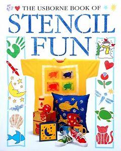 The Usborne Book of Stencil Fun
