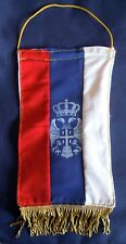 Serbia - Chetnik flag - Coat of arms #2 - Both sided