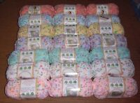 Bernat Dippity Dots Yarn, Lot of 3 Skeins, 2.8 oz ea.*You Choose Color*