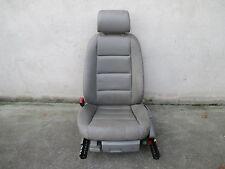 LEDER Fahrersitz Sitz vorne Audi A4 B6 8E Sitze Ausstattung hellgrau PLATINHELL