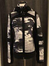 Zella Kylie Quilted Front Zip Jacket Sz M