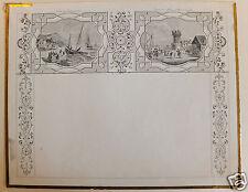 Calendrier (prototype) calendar paysages19ème siècle