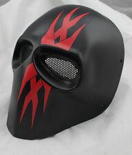 NEW COOL Fiberglass Resin Mesh Eye Airsoft Paintball Full Face Protection Mask