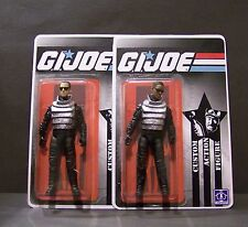 "Custom GI Joe figure and short card lot ""Agent K and J"" from MEN IN BLACK  MIB"