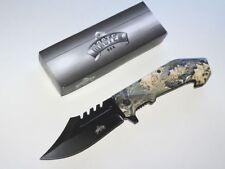 Einhandfolder assisted opening by Master Knives estados unidos real Tree camo pinzamiento nuevo/en el embalaje original
