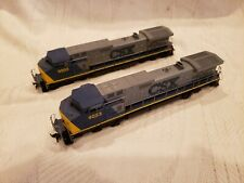 HO CSX POWERED AND DUMMY LOCOMOTIVES BY ATHEARN IN EXCELLENT CONDITION