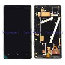NEW For Black Nokia Lumia 930 LCD Display With Touch Screen Assembly W/Frame
