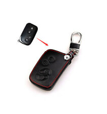 Leather Case For Lexus Remote Smart Key HYQ14AAB IS LX GX 4 Buttons Cover Holder