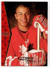 1994-95 Upper Deck SP Premier Prospects JEROME IGINLA Rookie RC Flames #181 (c)