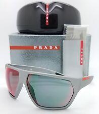 New Prada Sport sunglasses PS 08US 4499Q1 67mm Grey Red Mirror AUTHENTIC PS08 US