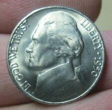 1950-D Jefferson Nickel Gem BU Uncirculated Condition Beautiful Looking Coin