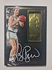 2014-15 Panini National Treasures Basketball Logoman Signatures Larry Bird /49