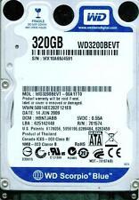 WESTERN DIGITAL SATA 320GB WD3200BEVT-001TT0,  HBNTJABB.