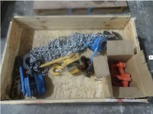 Tractel 10x30 Bravo 6 Ton Capacity Manual Lever Chain Hoist