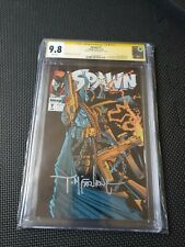 Spawn #7 CGC 9.8 NM/MT White Pages SS Signed Todd McFarlane 2562080008