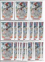 2014 Bowman Draft Marcus Wilson (25) Card Bulk Paper Lot Red Sox Rookie #DP63 RC