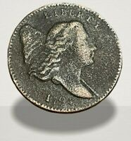 1794 Half Cent Liberty Cap Low Mintage 81,600