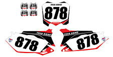 2010 2011 2012 2013 HONDA CRF 250R CUSTOM NUMBER PLATE BACKGROUND​ GRAPHICS