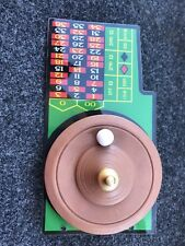 Bally Whodunnit Who Dunnit Pinball Machine Roulette Wheel Plastic