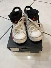Air Jordan 6 Infrared 2014 KIDS Size 8C 384667-123