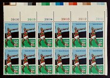 US Stamps, Scott #1790 10c 1979 Summer Olympic Games Plate Block of 12 XF/S M/NH