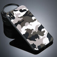 Army Camo Camouflage Soft TPU Case Cover Back Protective For iPhone X 8 7 6 Plus