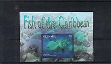 Grenada 2014 MNH Fish of Caribbean 1v S/S I Marine Yellow Chub