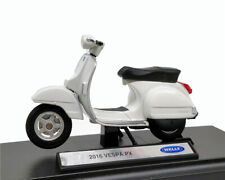Welly 1:18 Vespa PX 2016 White Scooter Diecast Model Bike