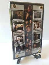 Julia Roberts Film Frame Cell Display of Eight Different Movies w/zipper pouch