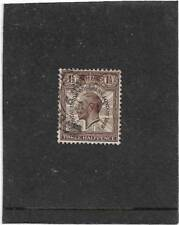 """BRITISH 1.5d BROWN PUC """"1829 for 1929""""VARIETY SG.436 Ncom7c SUPERB USED"""