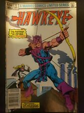 Hawkeye #1  NEWSSTAND variant cover-