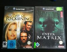 WWE Day Of Reckoning ++ Enter the Matrix ++ (Nintendo GameCube + Wii, 2003/2004)