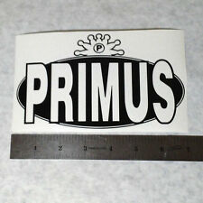 PRIMUS Vinyl DECAL STICKER BLK/WHT/RED Funk Metal BAND Logo Window Guitar Les