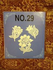 Embroidery Lace Designs Card #29 For  Bernina Bernett Deco Brother Baby Lock