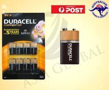 8 Duracell 9V MN1604 DURALOCK Alkaline Battery - EXP 03/2023 Coppertop brand new