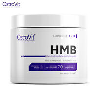 HMB PURE POWDER 70 SERV! Muscle Builder & Recovery - Anabolic Strength Increase