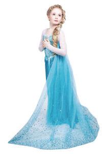 Halloween Costume Frozen Princess Elsa Costume, Size 4T