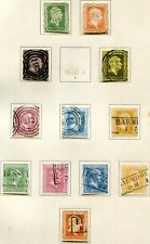 BAYERN 1849-1875 ca + PREUSSEN TuTAXIS WTTBG SAMMLUNG(64487c