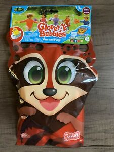 Zing Glove-A-Bubbles Wave And Play Raccoon