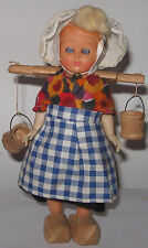 Doll in the Dutch national costume. 1970. Free shipping.